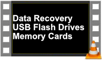 USB flash pen drive and micro SD card data recovery