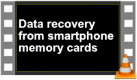 data recovery from smartphone memory cards